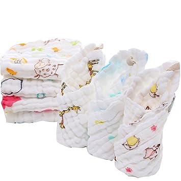 Toallitas de bebé y muselina, Tukistore Toalla de bebé recién nacido suave para bebés Super