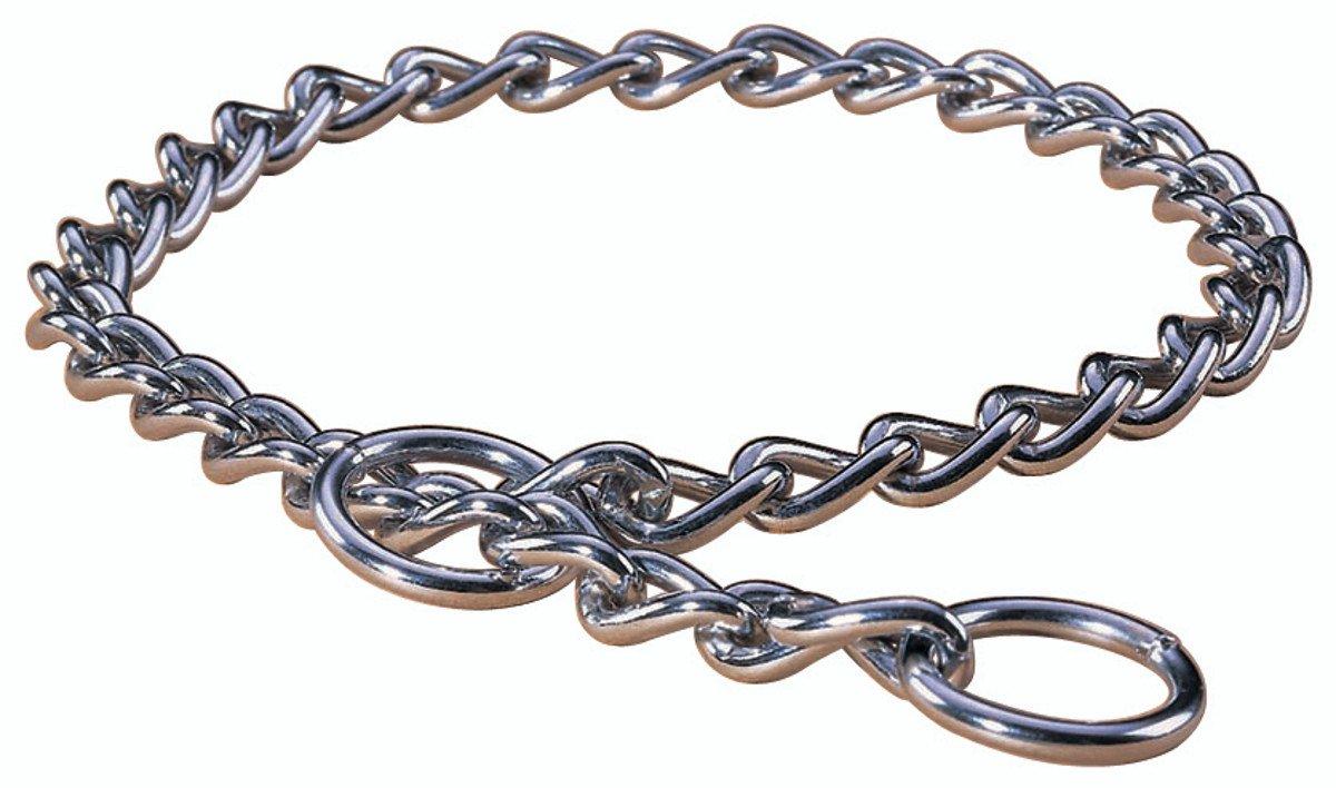 Medium Hamilton 22-Inch Choke Chain Dog Collar