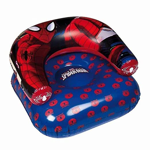 Marvel, Spiderman 88430-s Asiento de Playa Hinchable, PVC ...