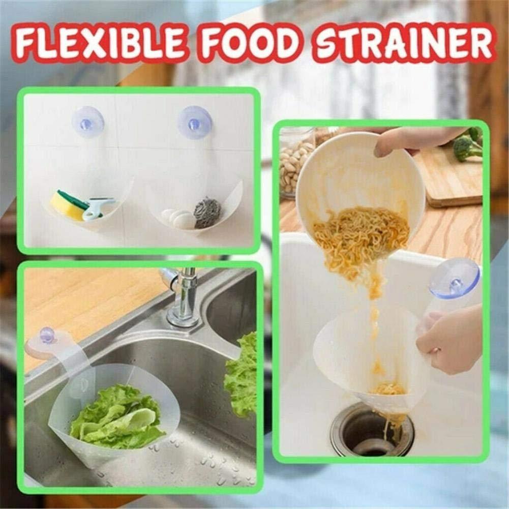 16,54 6.69in 42 17cm niyin204 Filtre Pliable Cuisine Autoporteurs De Vidange /Évier Anti-Blocage Filtre Passoire Passoire Simple Dispositif Anti Bloquante pour La Cuisine Bathroom