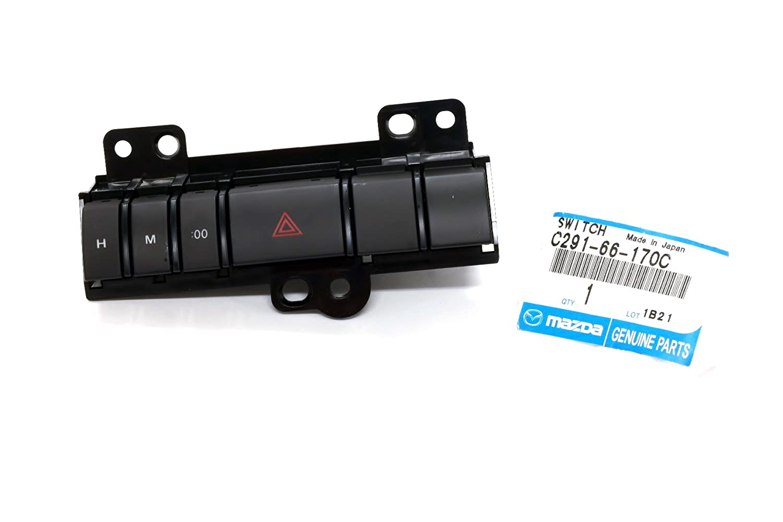2008-2010 Mazda 5 Right Dashboard Cluster Hazard Switch OEM NEW Genuine C291-66-170C