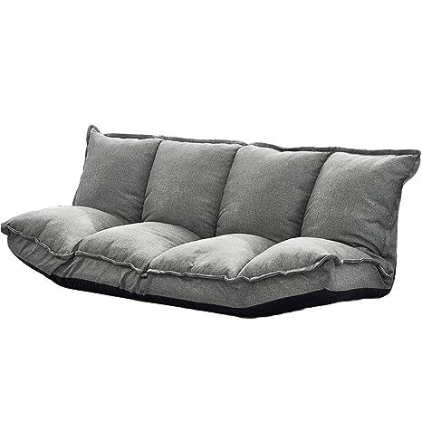 Amazon.com: LXYFMS Lazy Couch Tatami Folding Sofa Multi ...