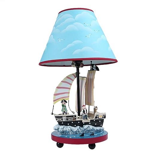 Table lamp modern children bedside lamp e27 cartoon pirate ship table lamp modern children bedside lamp e27 cartoon pirate ship creative desk lamp boy bedroom aloadofball Images