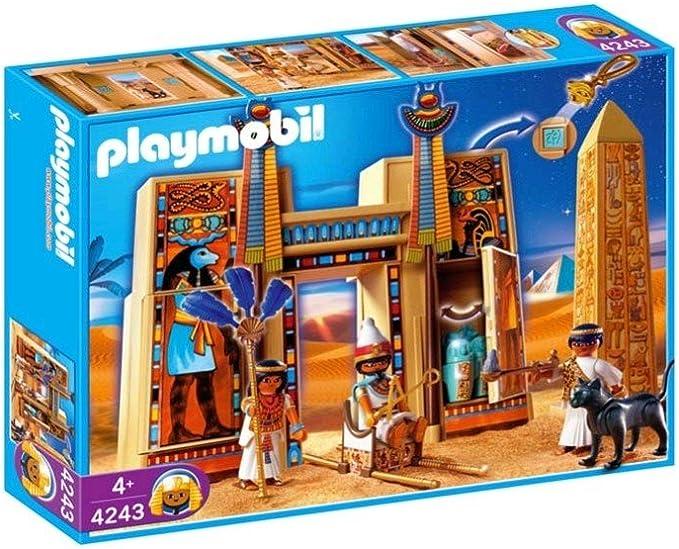 PLAYMOBIL 4243 - Templo del Faraón: Amazon.es: Juguetes y juegos