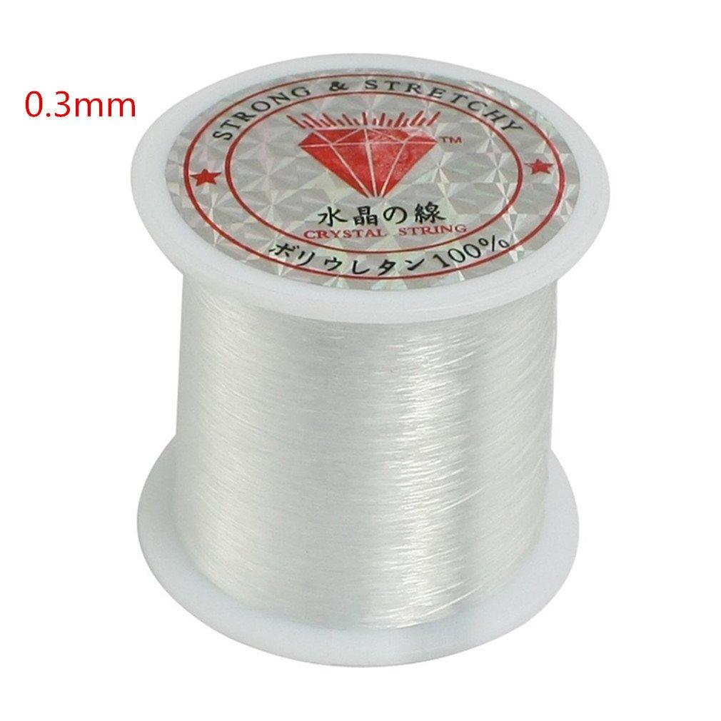 【国内配送】 (0.3mm, 1p) - AThumb DIY 0.3mm Jewellery Fishing Line Clear Nylon 1p) Fish Fishing Line Spool Beading String Jewellery Beading Thread for DIY Crafting B076V391F9, Atomicdope アトミックドープ:1f33b5b0 --- a0267596.xsph.ru