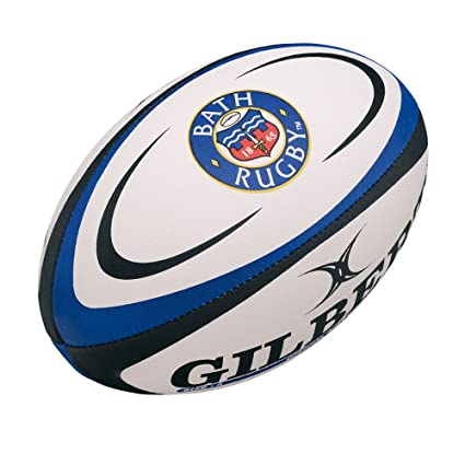 GILBERT Bath Réplica Mini Balón de Rugby, Mini: Amazon.es ...