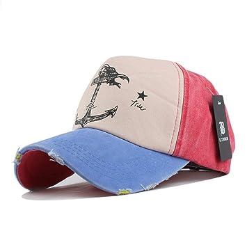 Yosrab Hip Hop Sombreros Parejas Sombrero Hombre Mujer Algodón ...