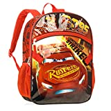Disney Pixar Cars Lightning Strikes 16 Backpack with Lunch Tote