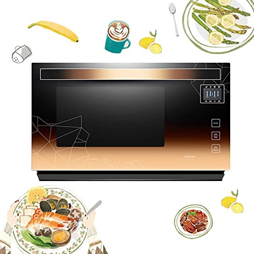 LiChenYao Solo 900W 23L Horno microondas con Pantalla táctil de HD ...