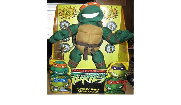 Amazon.com: Teenage Mutant Ninja Turtles Super-Poseable ...