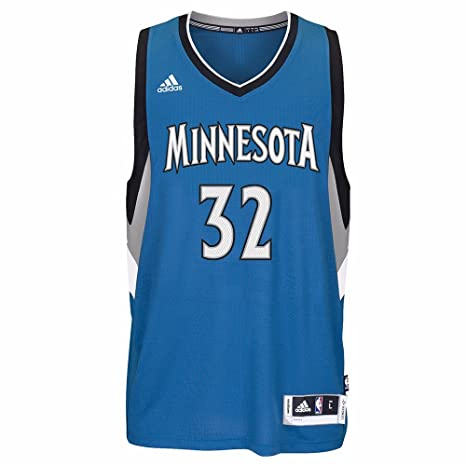 Amazon.com : Karl-Anthony Towns Minnesota Timberwolves Blue Adidas Swingman Jersey : Sports & Outdoors