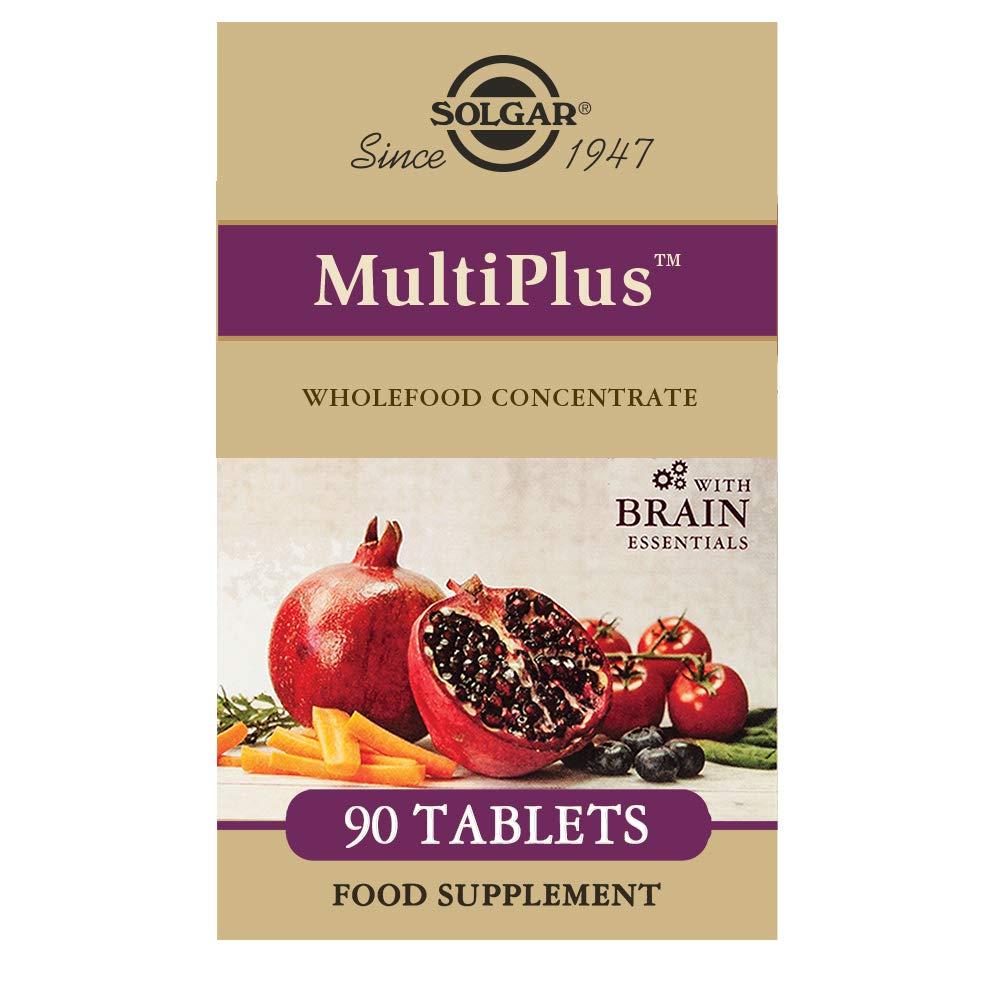 Solgar MultiPlus Brain Suplemento - 90 Tabletas: Amazon.es ...