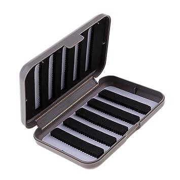 Angeln Zubehör 1 Stück Fliegenfischen Box für Microfliegen /& Mücken
