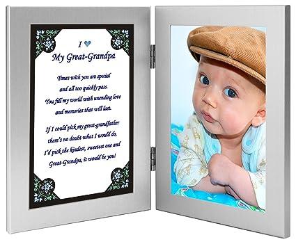 Bisabuelo Regalo de marco para foto - gran abuelo poema para padre ...
