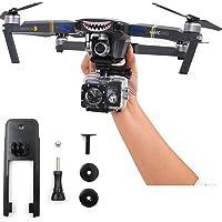 Flycoo Monturas Montaje de la cámara de acción Cámara de 360 ° Fijación de la base del soporte para DJI Kit de accesorios Mavic Pro / Platinum Drone
