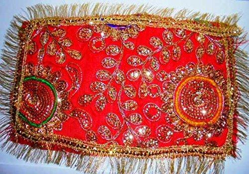 2 Handmade Temple clothfor Navratri puja - for