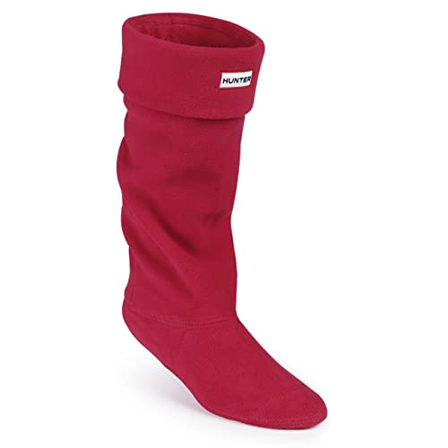 Hunter Boots Calcetines Welly Socks de forro polar para botas de agua - rojo - M