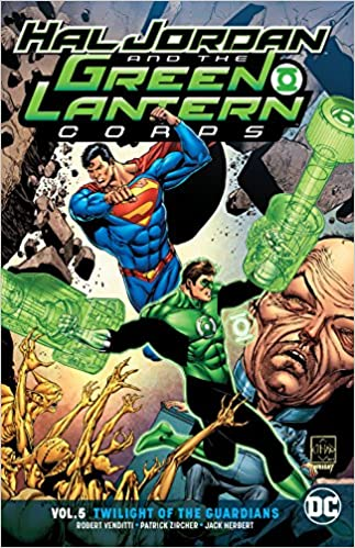 c11d8d88789824 Amazon.com  Hal Jordan and the Green Lantern Corps Vol. 5  Twilight of the  Guardians (9781401280376)  Rob Venditti