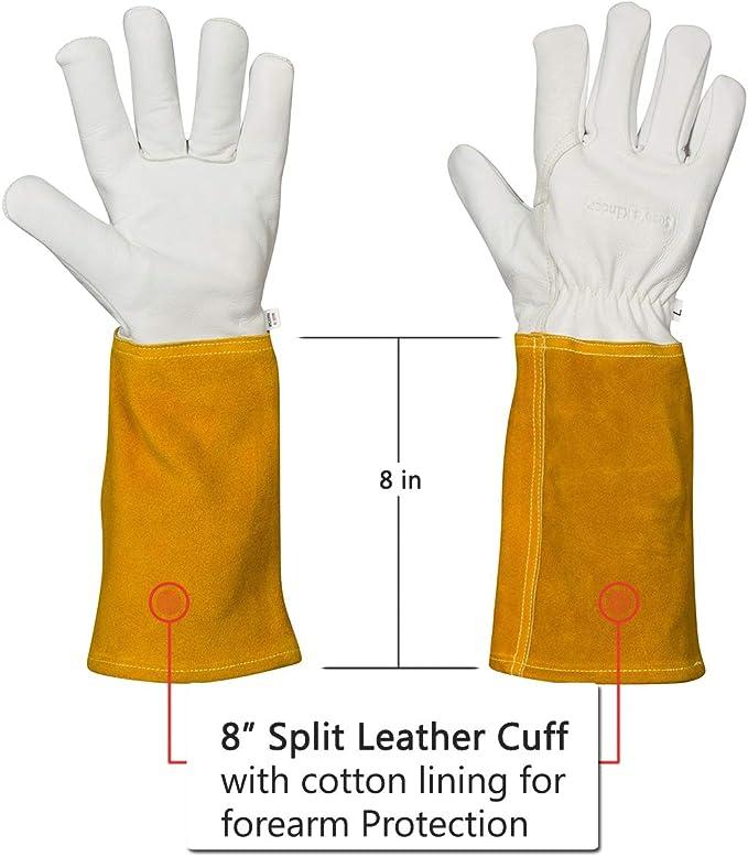 TIG Welding Gloves Oil /& Abrasion Resistant XL XXL WELDAS SOFTouch