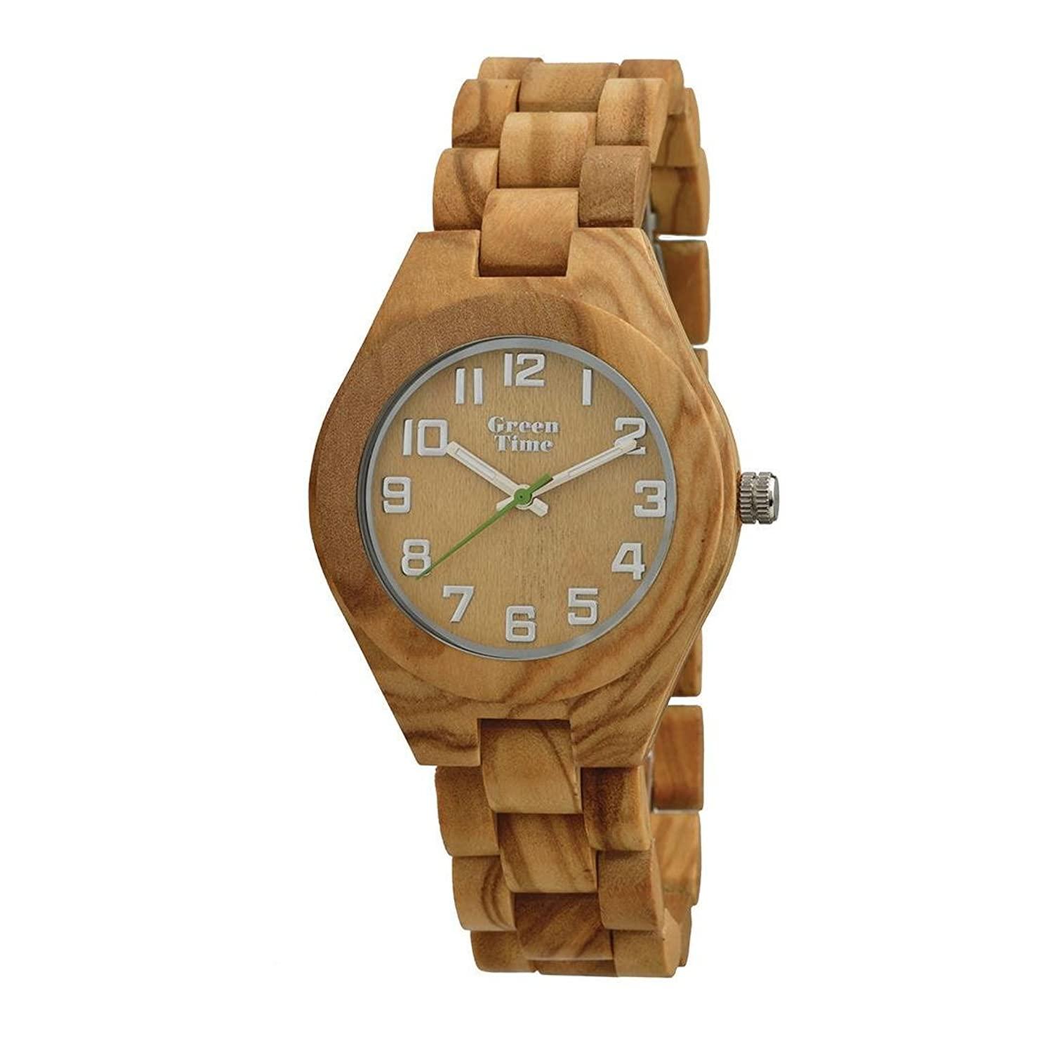 Uhr Damen aus Holz Green Time zw059 a Kollektion Spring 2017