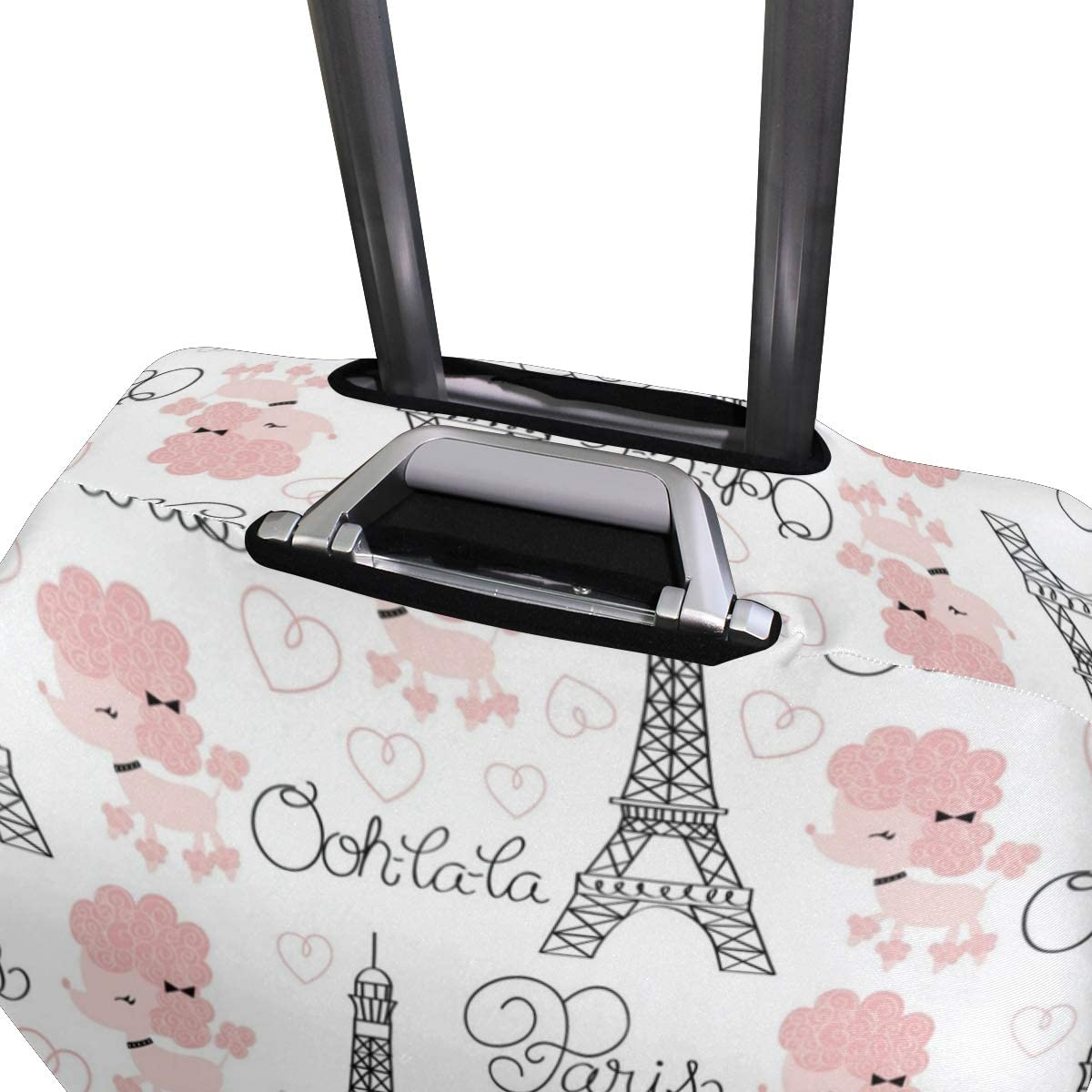 18//22//26//29 Inch Travel Suitcase Luggage Protective Cover with Lovely Towers