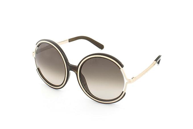Chloé CE708S 303 58, Gafas de Sol Unisex-niños, Khaki ...