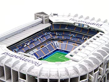 Modelo 3D de Estadio Deportivo, Real Madrid Bernabéu Estadio ...