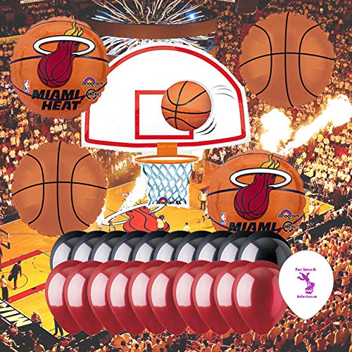 Anagram Miami Heat Balloon Set -