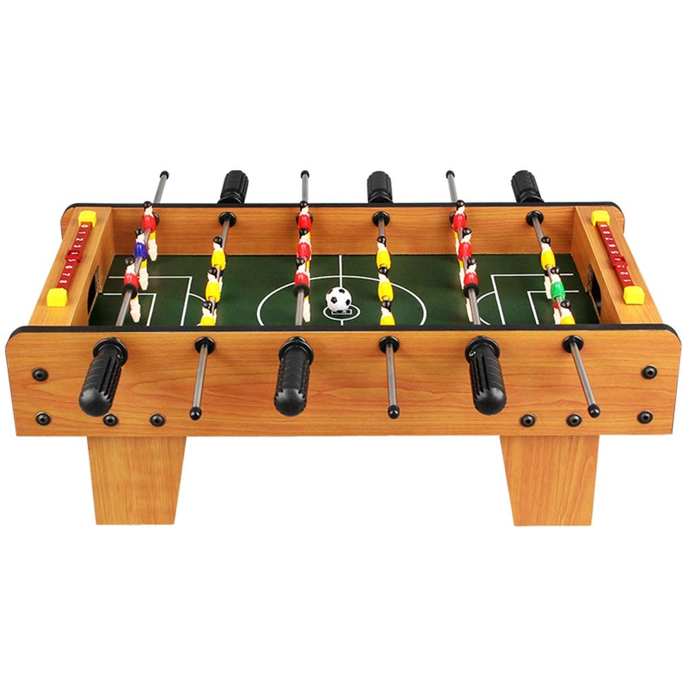 Game Table Set Pool Foosball Indoor Game Room Soccer Table for Adults and Kids (Color : Color, Size : 50x45x18cm) by Forgiven