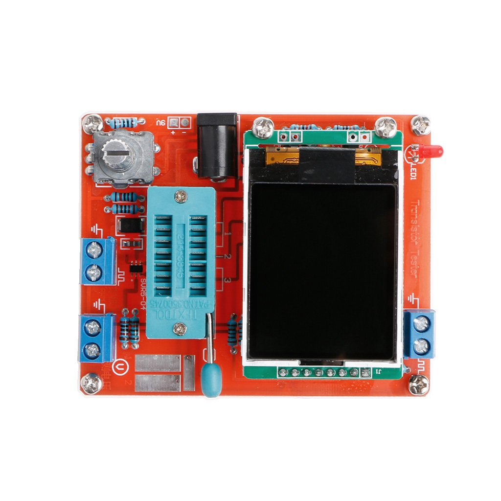 Ringbuu M328 Diy Transistor Tester Lcr Diode Capacitance Track The Damage Capacitors Elco With Esr Meter Pwm Signal Generator Computers Accessories