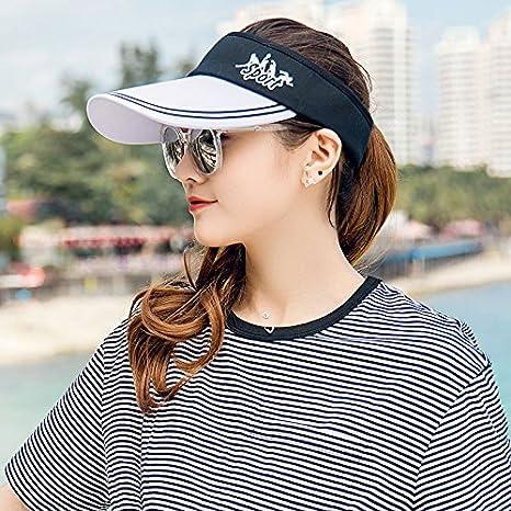 GAOQIANGFENG Sombrero para el Sol del Verano Viajes Exterior Femenino Hat  Fashion Todos-Match Top 50e8ff75569