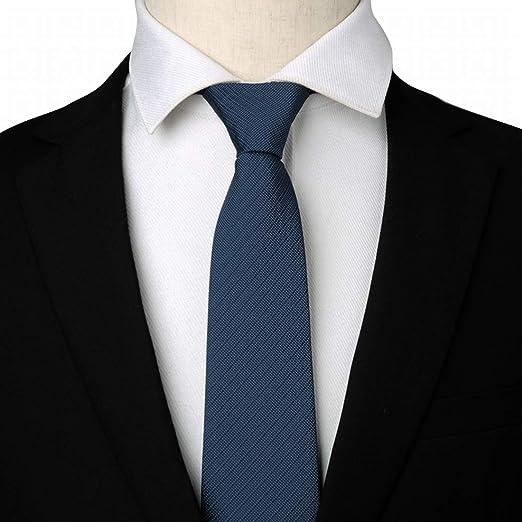 WAVENI Corbata con Cremallera para Hombres Corbatas para Hombres ...