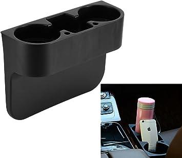 Beige Multifunction Large Car Auto Seat Side Organiser Van Storage Drinking Bottle Can Cup Mug Mount Holder Stand