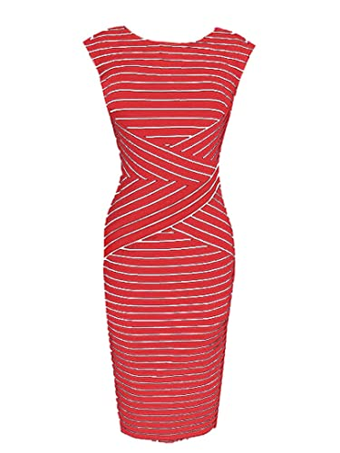 Choies Women's Mixed Stripe Sl...