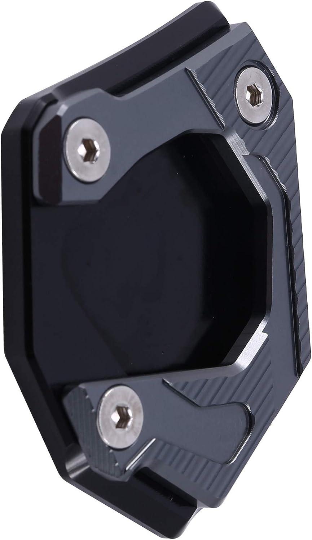 Nrpfell Placa de Soporte de Extensi/óN Soporte Lateral de Aluminio CNC para Motocicleta para F700GS 2013-2017 Titanio