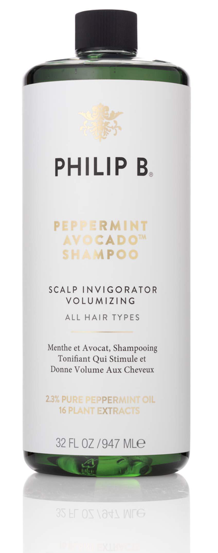 Philip B Peppermint & Avocado Volumizing & Clarifying Shampoo, 32 Oz by PHILIP B.
