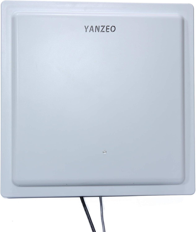 Yanzeo Wiegand RS232 RJ45 UHF - Lector de antena (15-20 ...