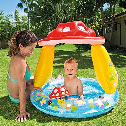 """Intex Mushroom baby Pool, 40"""" x 35"""