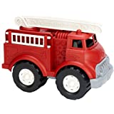 Green Toys Fire Truck - BPA Free, Phthalates Free Imaginative Play Toy for Improving Fine Motor, Gross Motor Skills. Toys for
