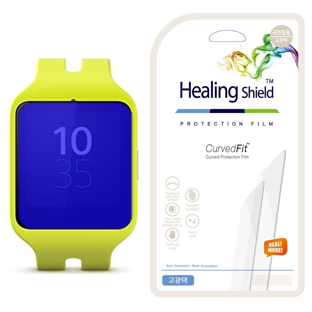 Healing Shield - Protector de pantalla para Sony Smartwatch 3 con ...
