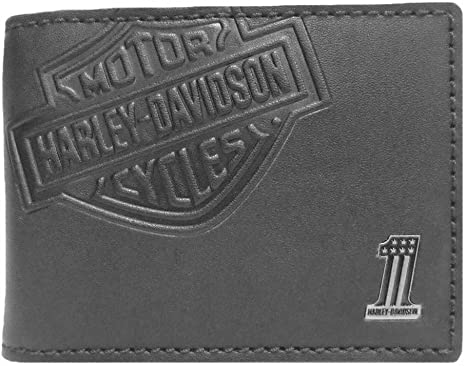 Harley-Davidson Men/'s Debossed Cowhide Leather Belt Rugged Brown 97706-18VM