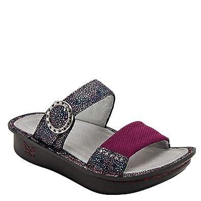 2496529dfe3 Alegria Keara Womens Sandal Plum Multi 35 EU