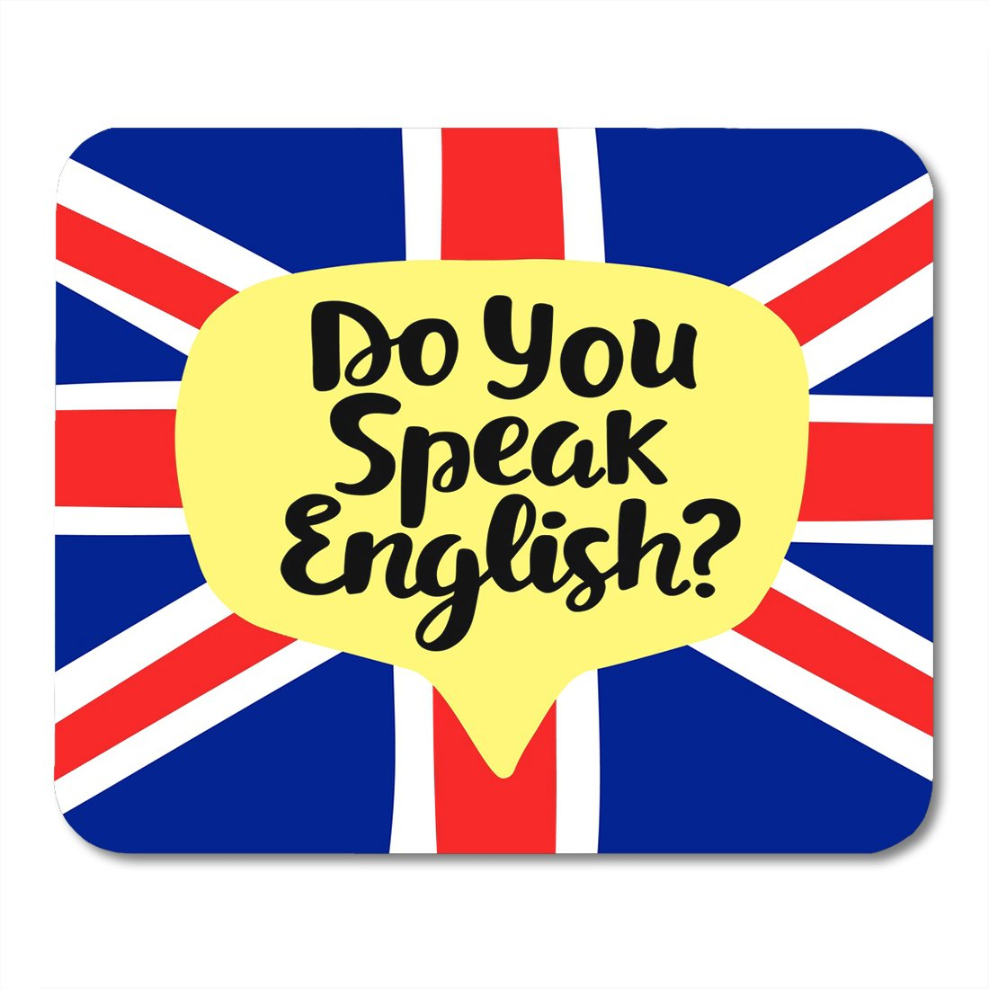 Amazon com : Nakamela Mouse Pads Do You Speak English