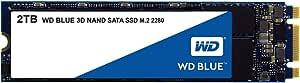 Western Digital WDS200T2B0B M.2 2TB SSD Blue, 3D NAND, Read 560MB/s, Write 530MB/s, 179K IOPS, 5 Years Warranty