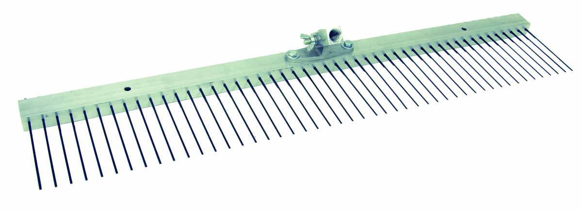 MARSHALLTOWN The Premier Line 14857 36-Inch Flat Wire Texture Broom with 3/4-Inch Spacing