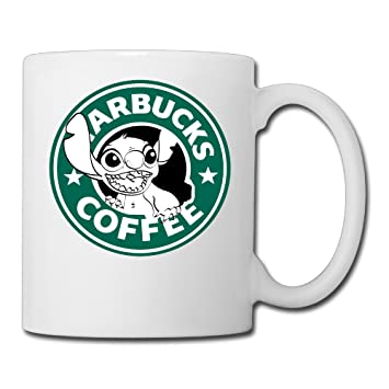 d70732507b1 Lilo And Stitch Starbucks Coffee Ceramic Cool Printing Espresso Mugs ...