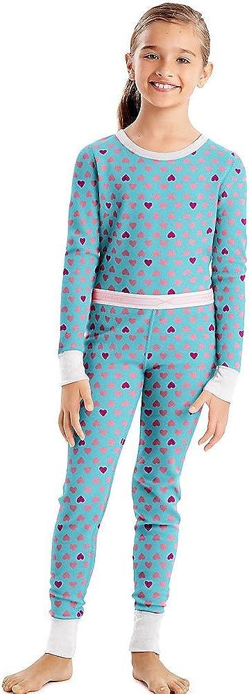 Hanes Girls Thermal Underwear Set