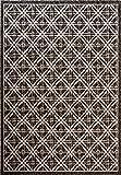 Cheap Fab Habitat Essentials Indoor/Outdoor Weather Resistant Floor Mat/Rug Cambridge – Diamond (5ft 2in x 7ft 5in) – Terrace