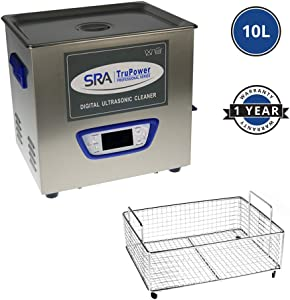 SRA TruPower Digital Ultrasonic Cleaner (10 Liter)