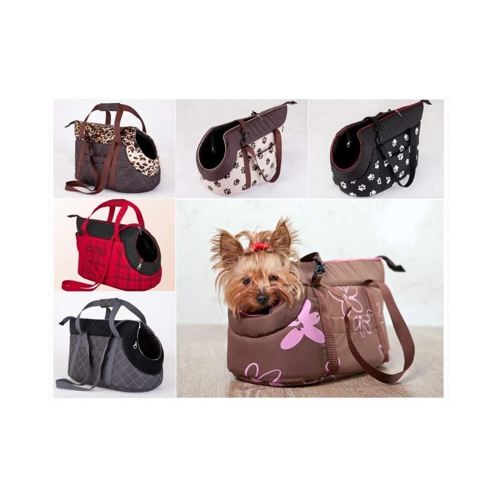 TrAdE Shop Traesio - Borsa per Il Trasporto con con con Zip TRASPORTINO Cane Gatto Animali Domestici Taglia - L-XL a34ea4